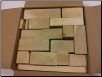 12x12x6 Box of Basswood