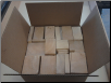 "12""x12""x6"" Random size box of balsa"
