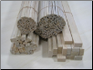 1/4x1/4x36 Balsa Wood Sticks (Bundle of 100)