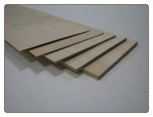 1/4x12x24 Birch Plywood VERTICAL GRAIN