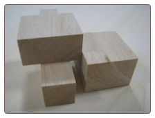 2x2x2 Balsa Wood Block
