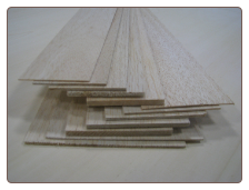 1/4x3x48 Balsa Wood Sheet